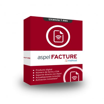 box aspel facture licencia completa suscripcion